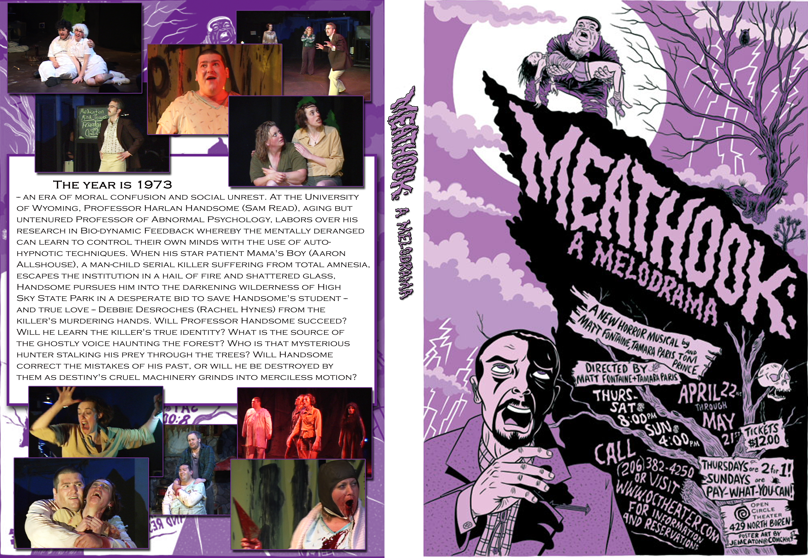 Meathook DVD Cover Art